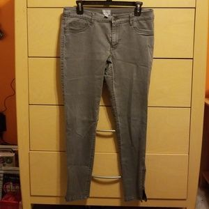 Converse gray jegging